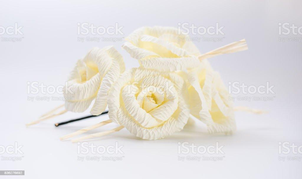 Dok mai chan thai artificial flowers used during a funeral stock dok mai chan thai artificial flowers used during a funeral royalty free stock photo mightylinksfo