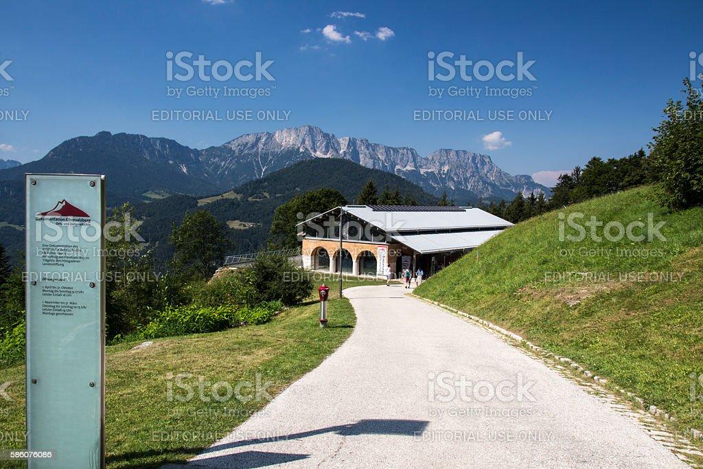 Dokumentation Obersalzberg building close to Berchtesgaden in Germany, 2016 stock photo