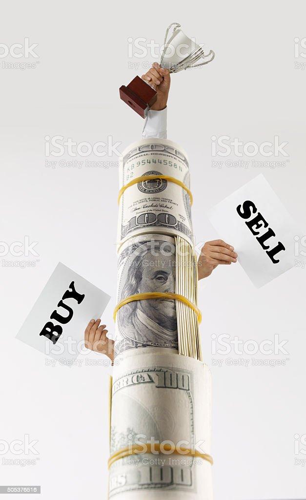 Dolar Tower stock photo