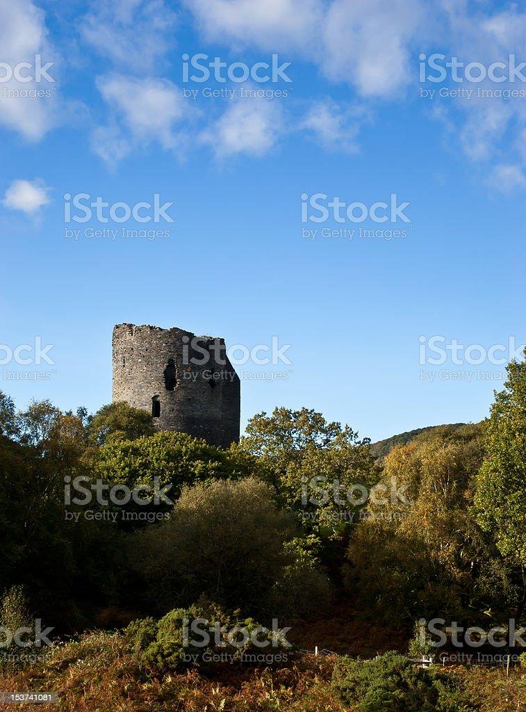 Dolbadarn castle. stock photo