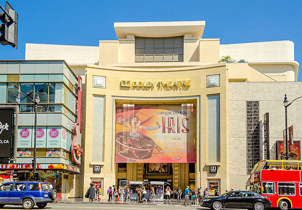 Dolby Theatre di Hollywood Boulevard, Los Angeles - foto stock