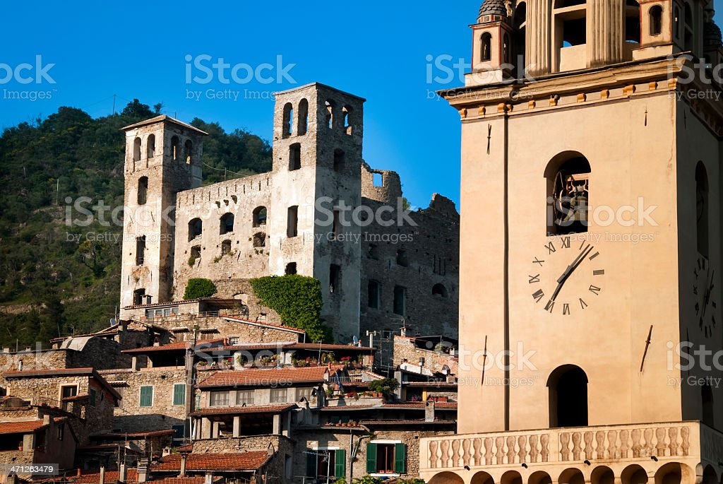 Dolceacqua, near Sanremo, Imperia, Italy stock photo