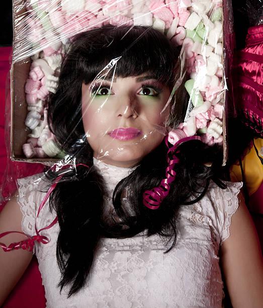 doll-konzept - barbiekleidung stock-fotos und bilder