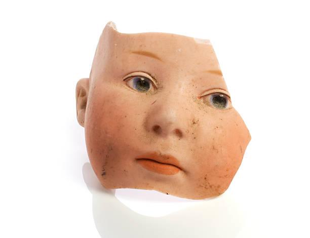 muñeca de cara - muñeca bisque fotografías e imágenes de stock