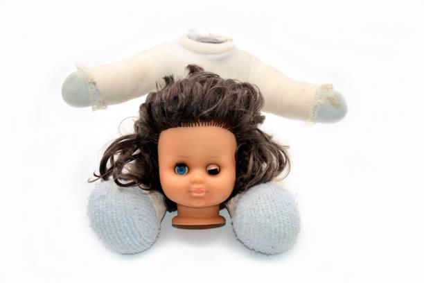 Puppe Kopf und Körper – Foto