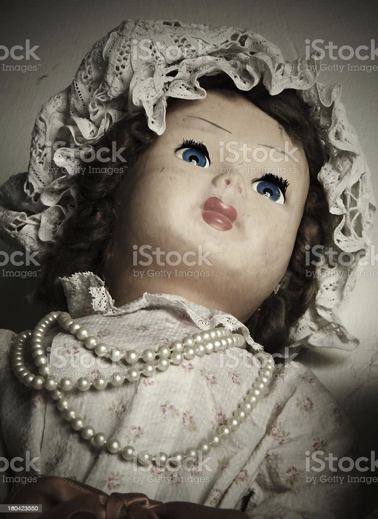 doll portrait royalty-free stock photo