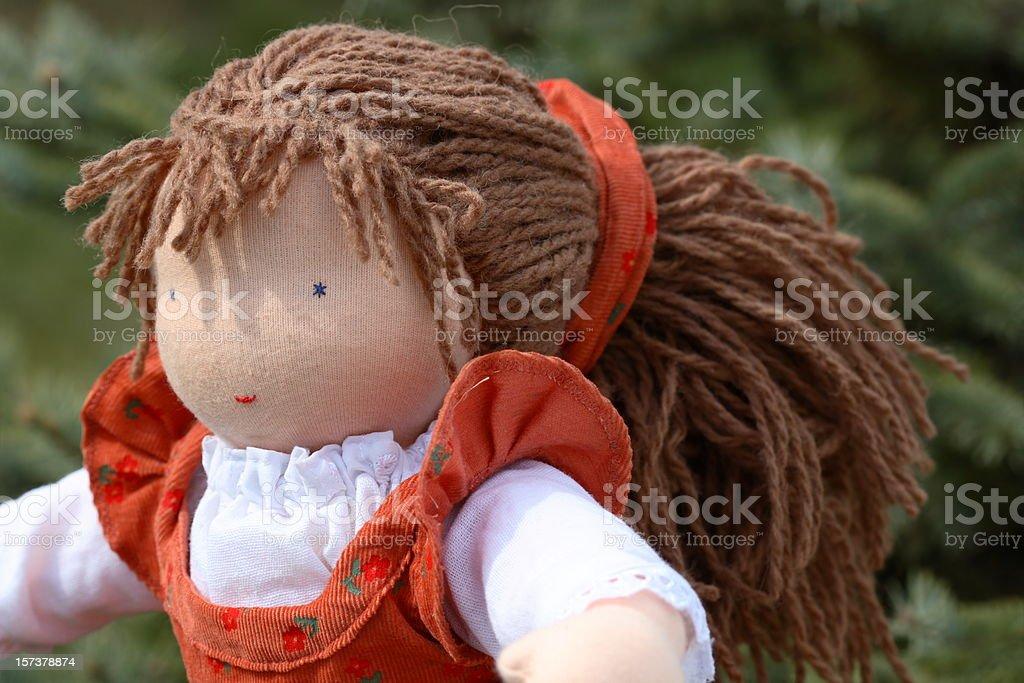 Boneca com Cabelos longos - foto de acervo