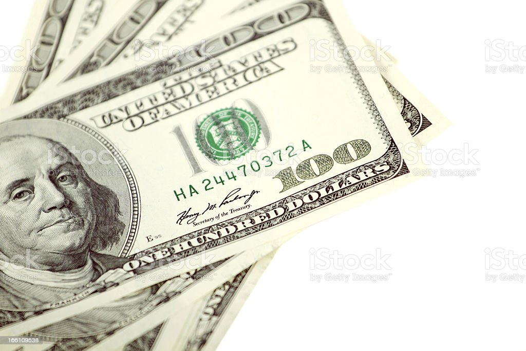 Dollar Abstract Background stock photo