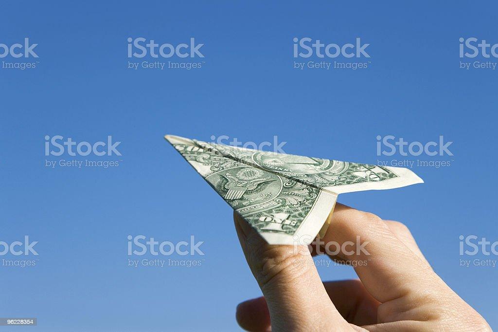 US-Dollar-Flugzeug – Foto