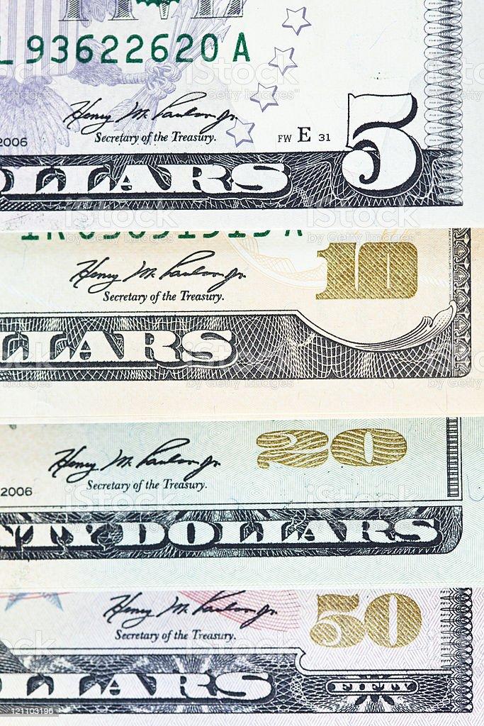 Dollar background royalty-free stock photo