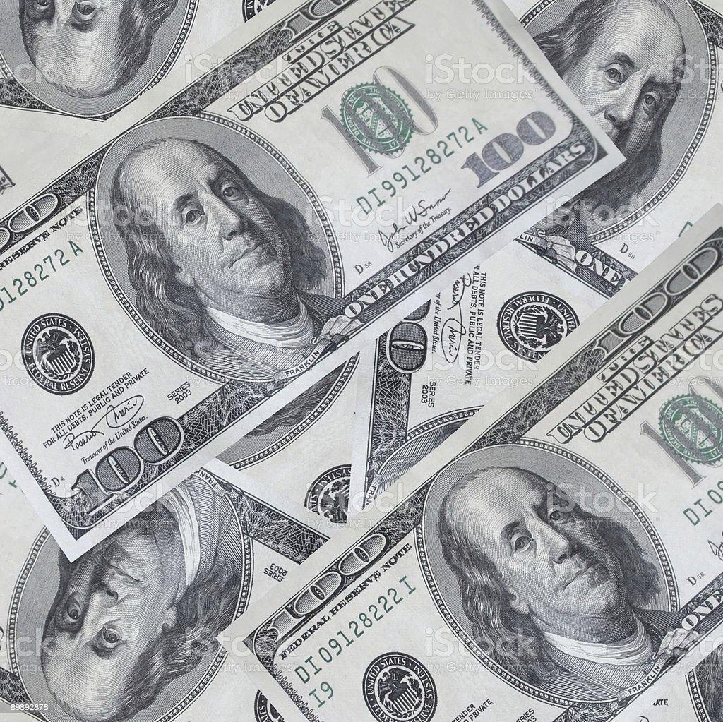 dollar background -XXL royalty-free stock photo