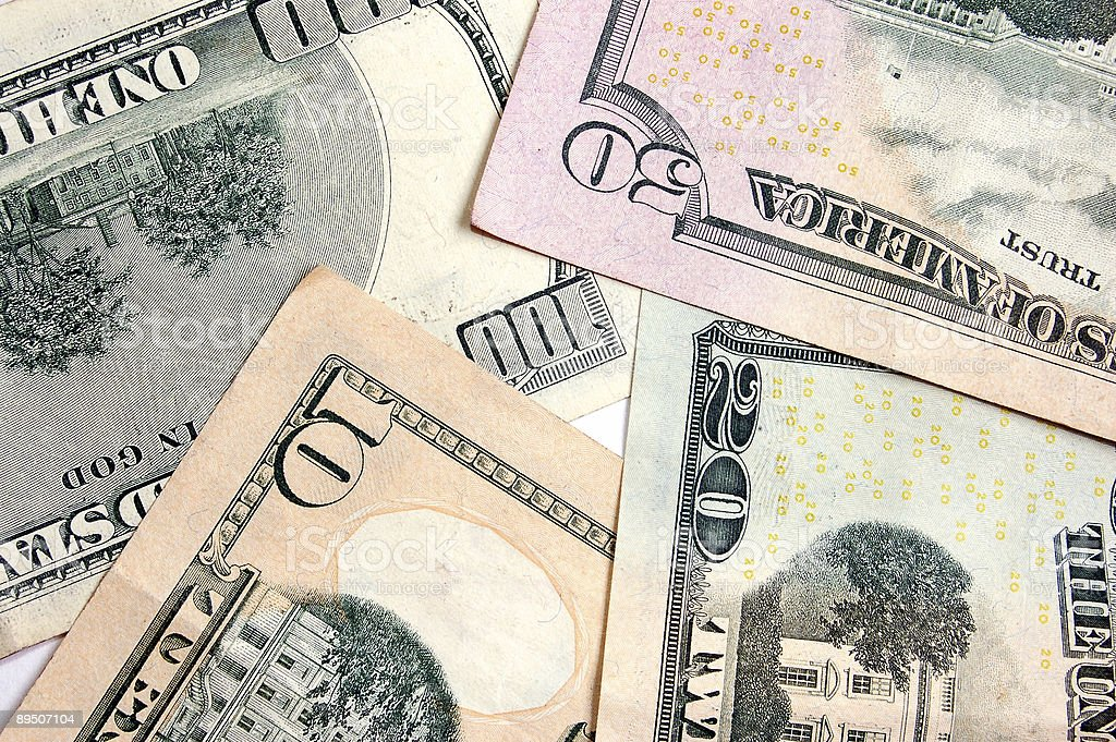 Dollar backround royalty-free stock photo