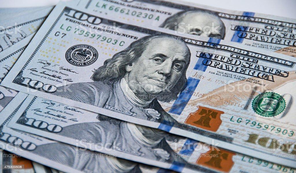 US Dollar Banknote 100,-US-Dollar – Foto