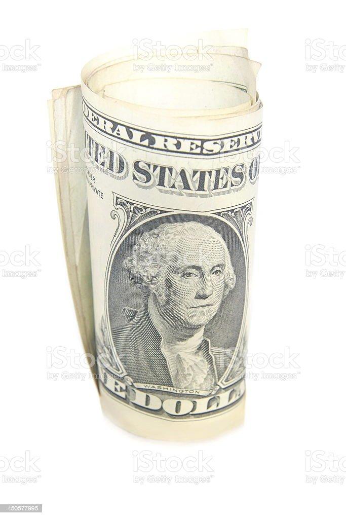 US dollar bill royalty-free stock photo