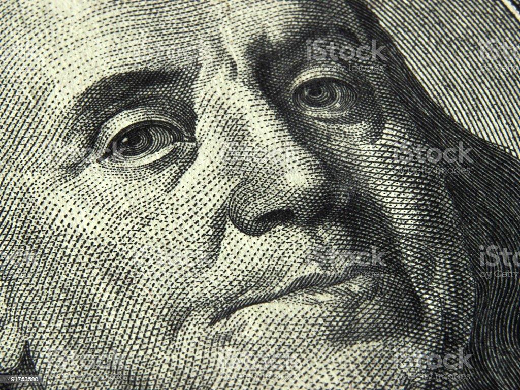 US dollar bill stock photo