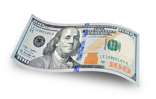 dollar-schein - nummer 100 stock-fotos und bilder