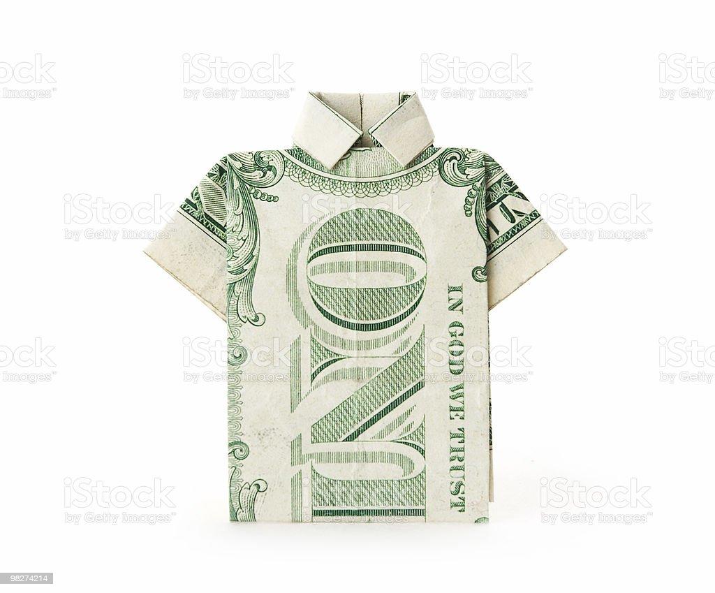 달러 지폐 티셔츠 royalty-free 스톡 사진