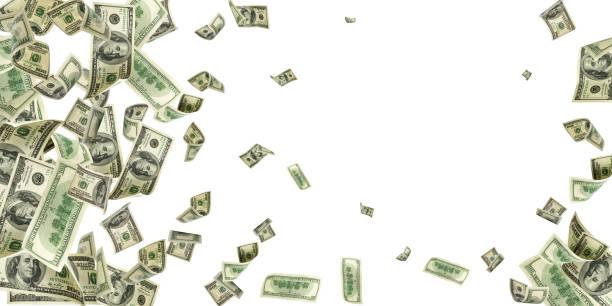 美元鈔票。華盛頓美國現金美元資金背景。錢在下降。 - money 個照片及圖片檔