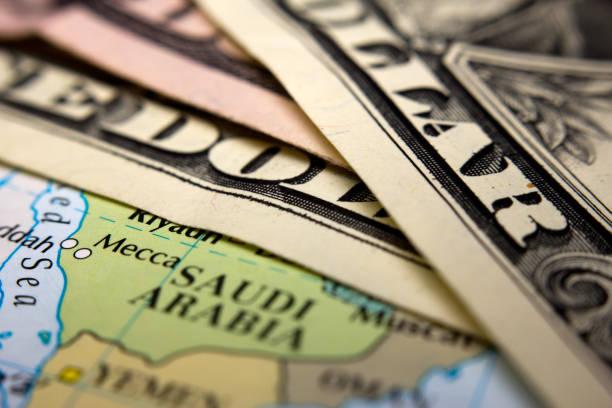Dollarscheine & Arabien – Foto