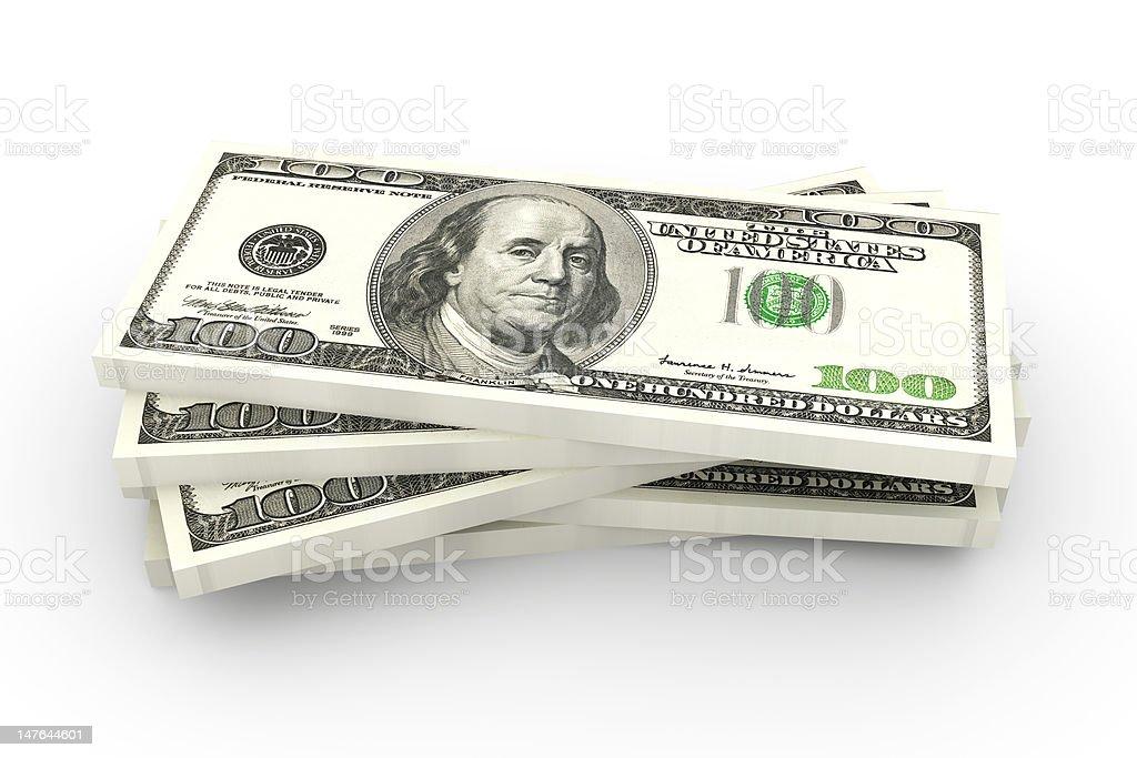 Dollar Bills royalty-free stock photo