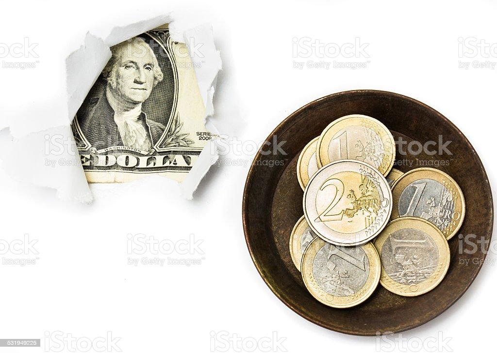 Dollar breakout stock photo
