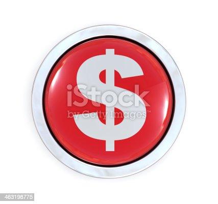 872222012istockphoto Dollar Button 463198775