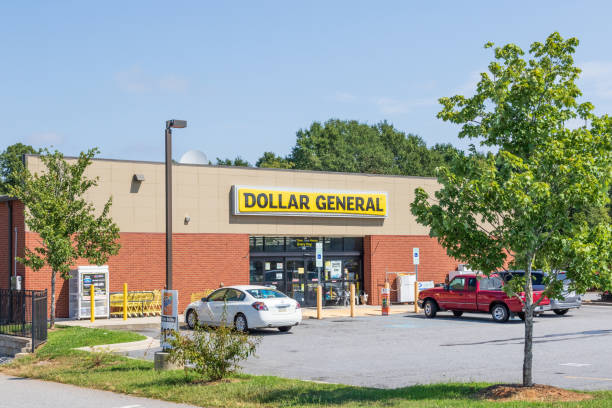 Dollar General storefront stock photo