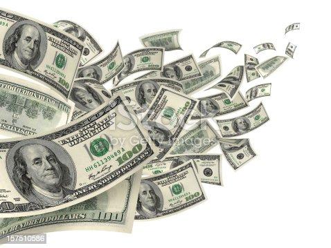istock US Dollar Hundred Bills In Wind 157510586