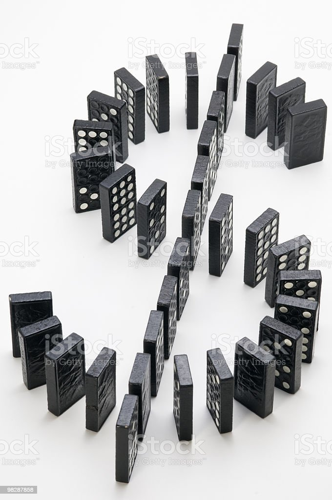dollar in balance royalty-free stock photo