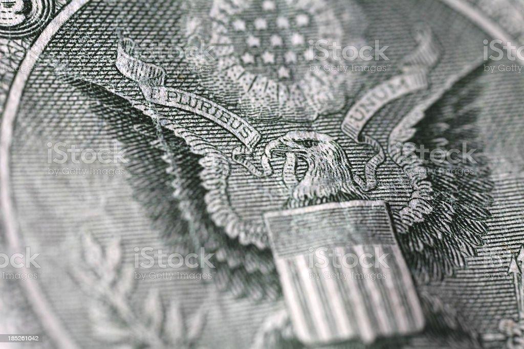 Dollar Macro stock photo