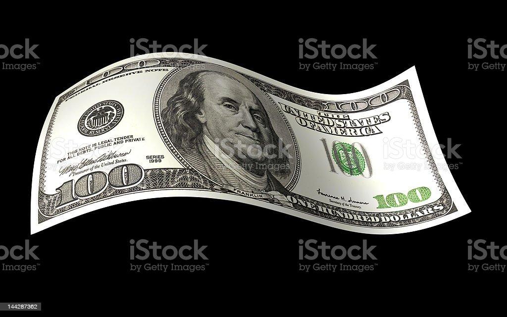 Dollar Note royalty-free stock photo