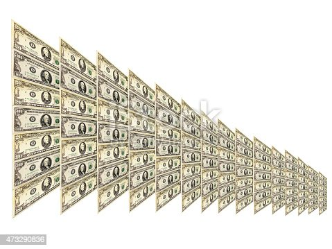istock dollar pattern with abstract plate isolated 473290836