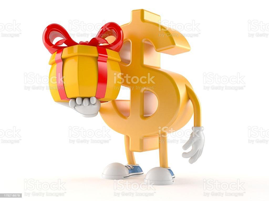 Dollar royalty-free stock photo