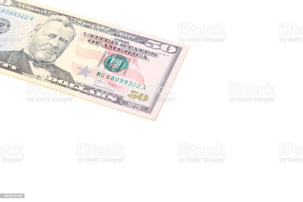 50 dollar stock photo