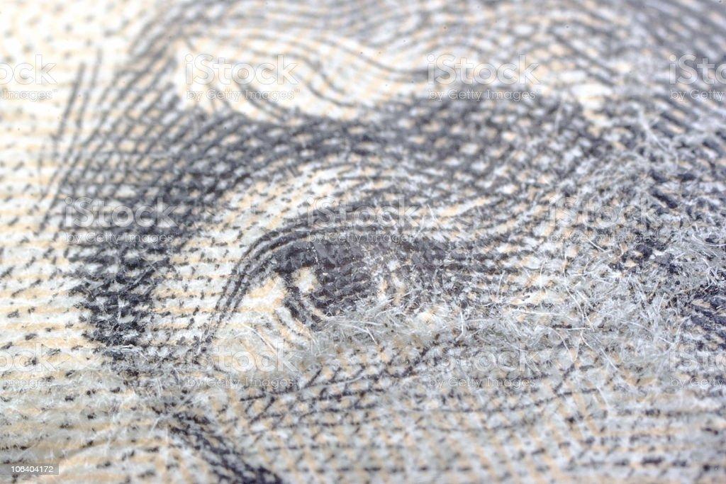 dollar: President's eye stock photo