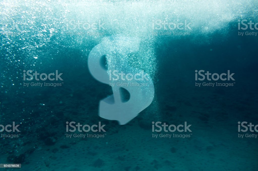 Dollar sign concept stock photo