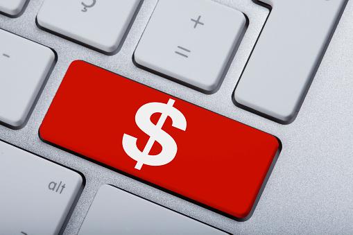 Доллар на клавиатуре картинки