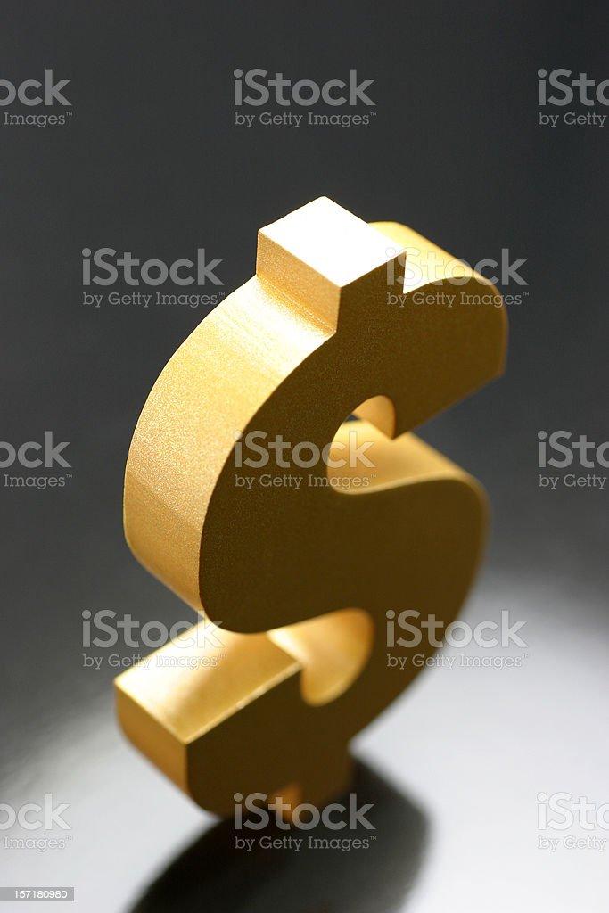 Dollar Sign Symbol royalty-free stock photo