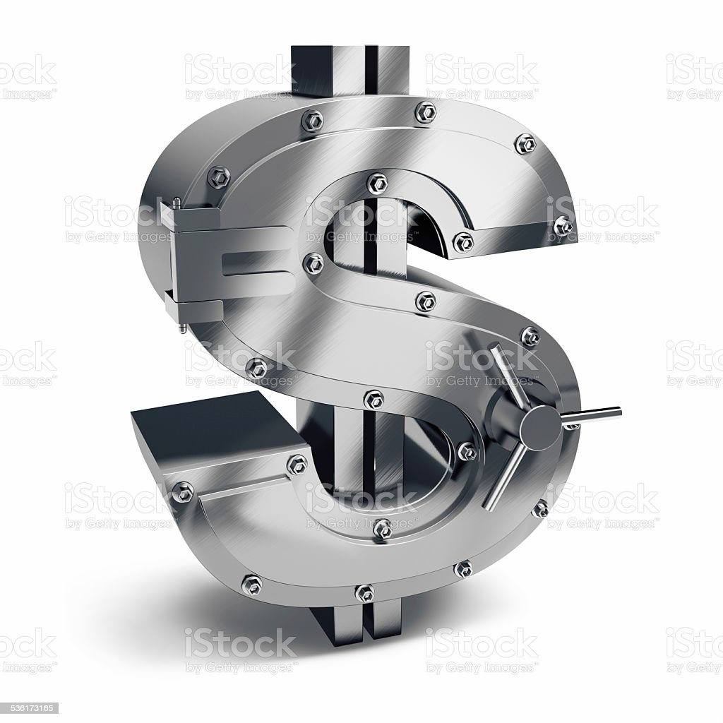 Dollar Vault stock photo