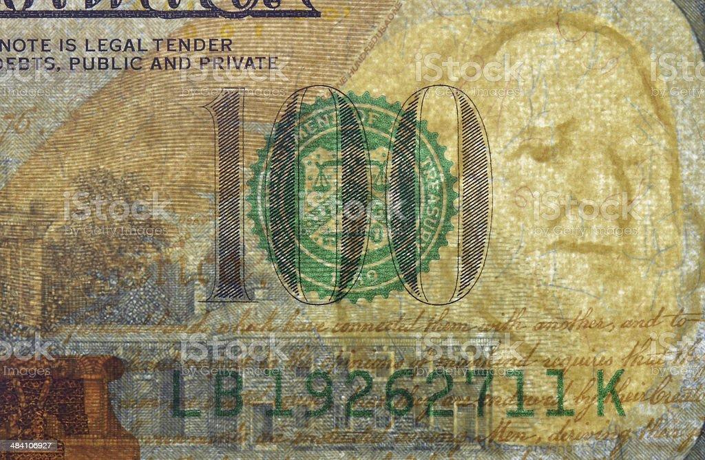 Dollar watermark stock photo