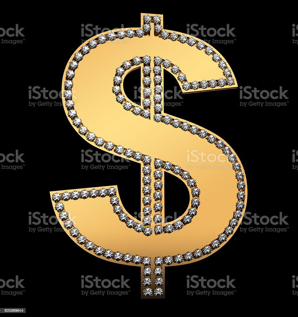 Dolara z brylantami zbiór zdjęć royalty-free
