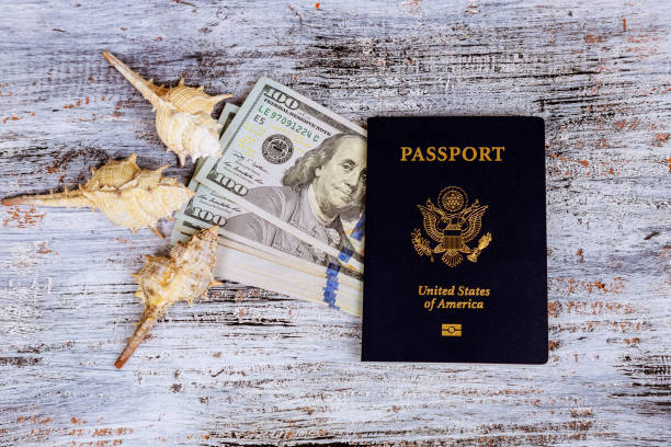 Dollar with passport and money saving and travel holiday concept picture id970565808?b=1&k=6&m=970565808&s=612x612&w=0&h=veiphurly88u aroxu077lwfyp fqjuezacmfzveefw=