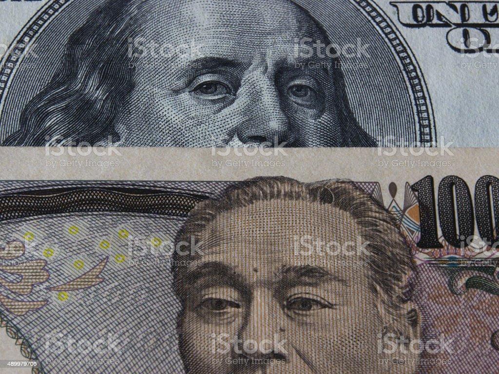 Dollar Yen stock photo