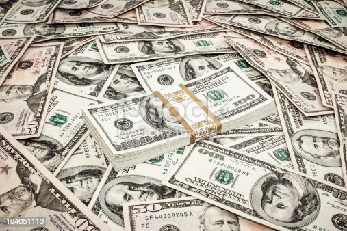 US Dollars BackgroundUS Dollars Background