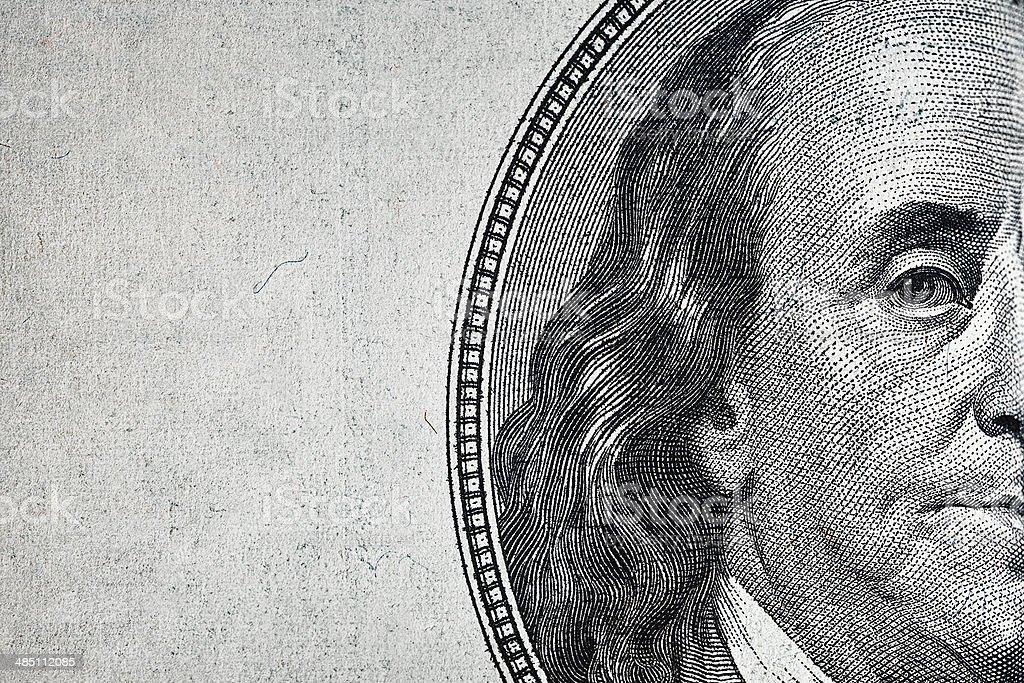 Dollar, Nahaufnahme. – Foto