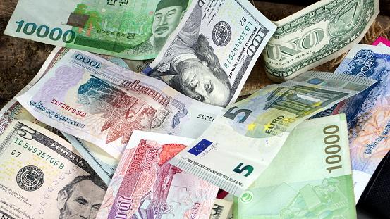 韓国 ウォン 米ドル