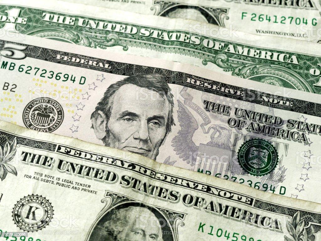 ドルお金アメリカやアメリカの紙幣の背景の壁紙 アメリカ合衆国の