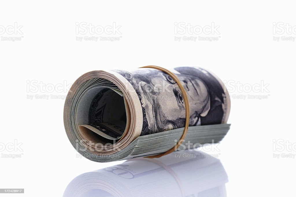 Dollars royalty-free stock photo