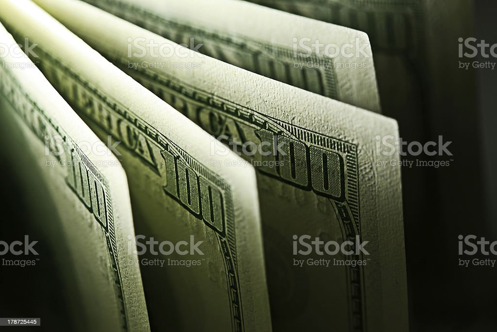 USA dollars. royalty-free stock photo