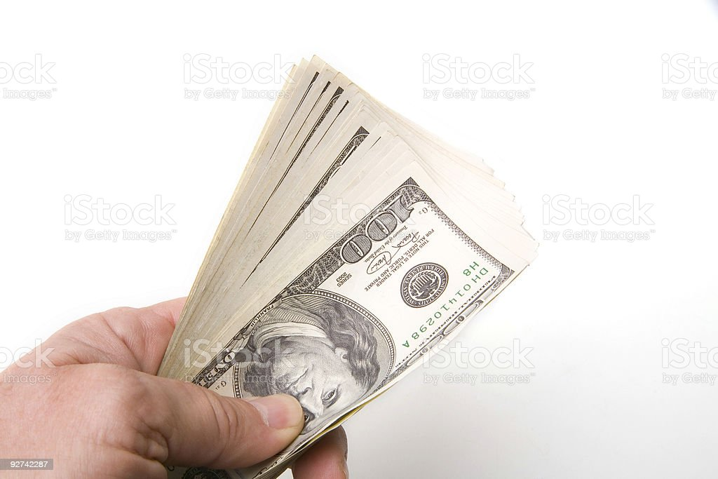 - Dollar Lizenzfreies stock-foto